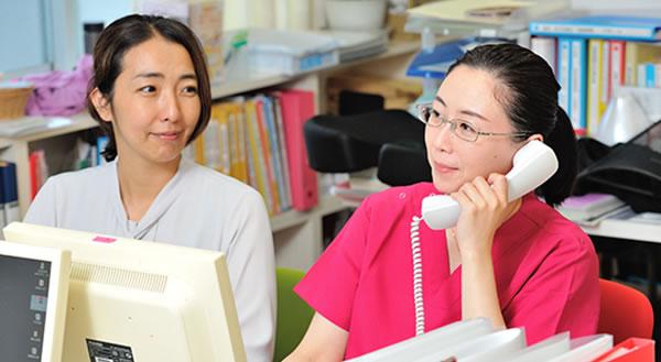 医療に詳しい相談員が対応いたします