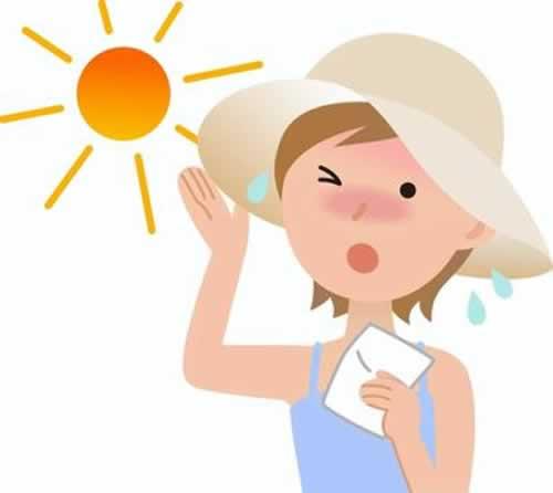 日焼けだけじゃない、紫外線に注意