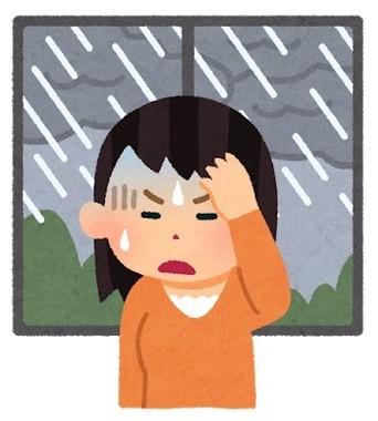 天気が悪いと調子が悪い「気象病」